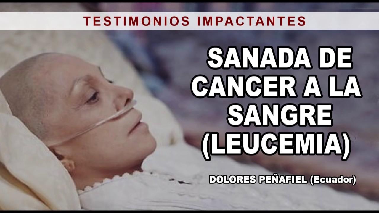 que es leucemia cancer de la sangre
