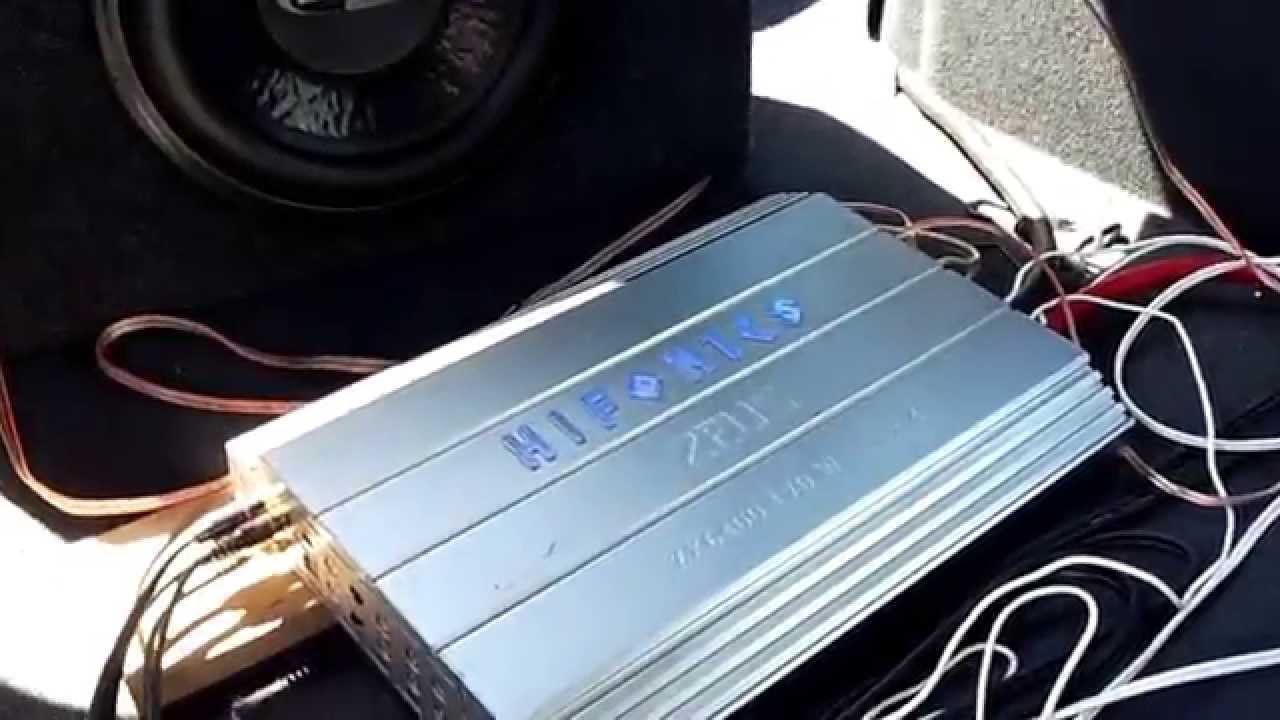 Hifonics Zeus ZX6400, Boschmann ZX-122X Pro 700W, Sony Elipse - YouTube