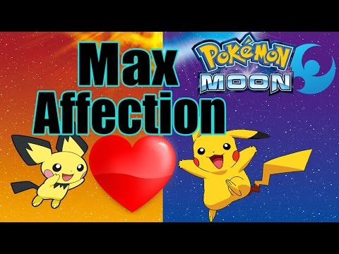 Max Affection - Pokemon Sun and Moon