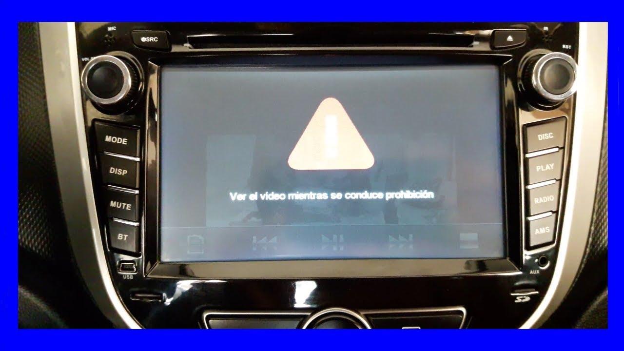Desbloquear Radio Hyundai Accent 2017 Prohibido Ver