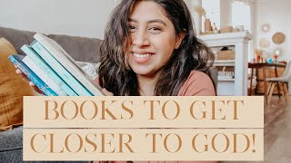 Books to get cl๐ser to God! | Life changing books every believer MUST read!