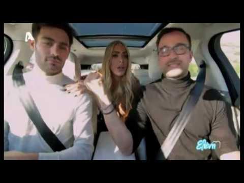 Kostas Martakis & Amaryllis - Carpool Karaoke (Eleni)