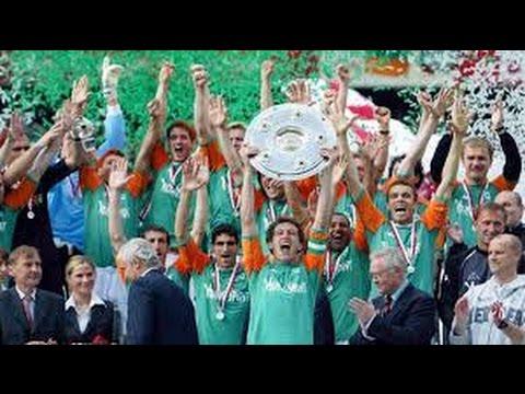 Bundesliga Saison 2003/2004 Werder Bremen holt das Double