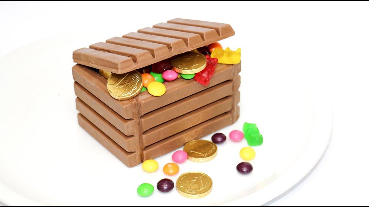 kit kat chocolate candy box by cakesstepbystep youtube