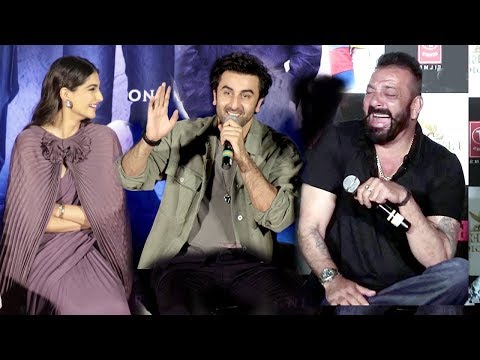 Sanjay Dutt's Biopic Sanju Trailer Launch...