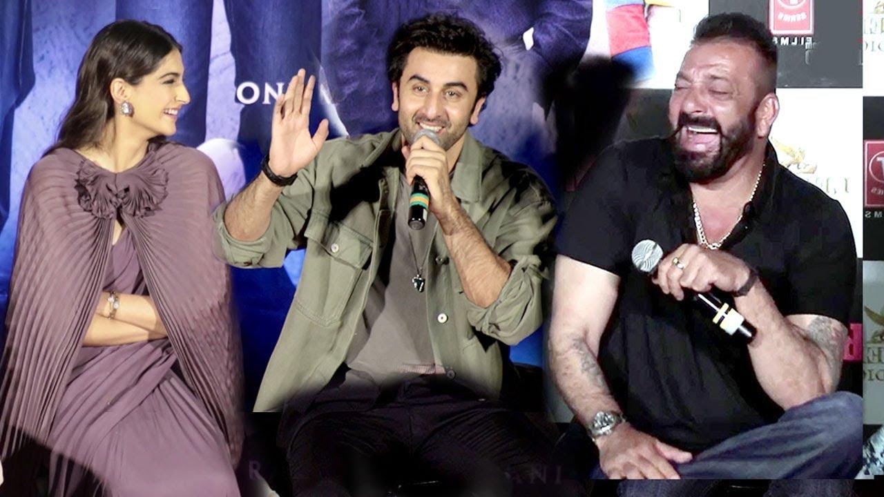 Sanjay Dutt's Biopic Sanju Trailer Launch Complete Video HD-Ranbir,Sonam Kapoor,Vidhu Vinod Cho
