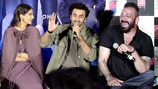 Sanjay Dutt's Biopic Sanju Trailer Launch Complete Video HD-Ranbir,Sonam Kapoor,Vidhu Vinod Chopra