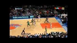 J.R. Smith & Steve Novak  3-point contest  vs Boston Celtics (17.04.12)