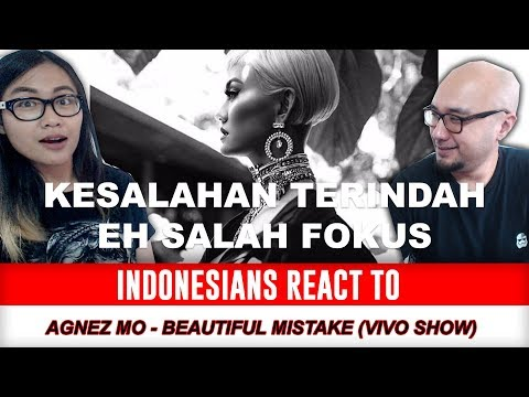 Indonesians React To Agnez Mo - Beautiful Mistake (Vivo Show Performance)