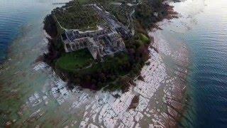 Grotte di Catullo Sirmione - Ariel video(Grotte di Catullo riprese aeree! (Cliccate HD sulla rotellina in basso a dx, e alzate il volume...!! ), 2016-04-01T09:49:32.000Z)
