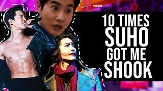 10 TIMES SUHO GOT ME SHOOK