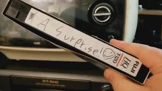 The Mystery Surrounding 'Surprise' VHS Tape Bought at a Thrift Store