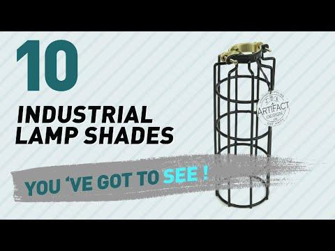 Industrial Lamp Shades // New & Popular 2017