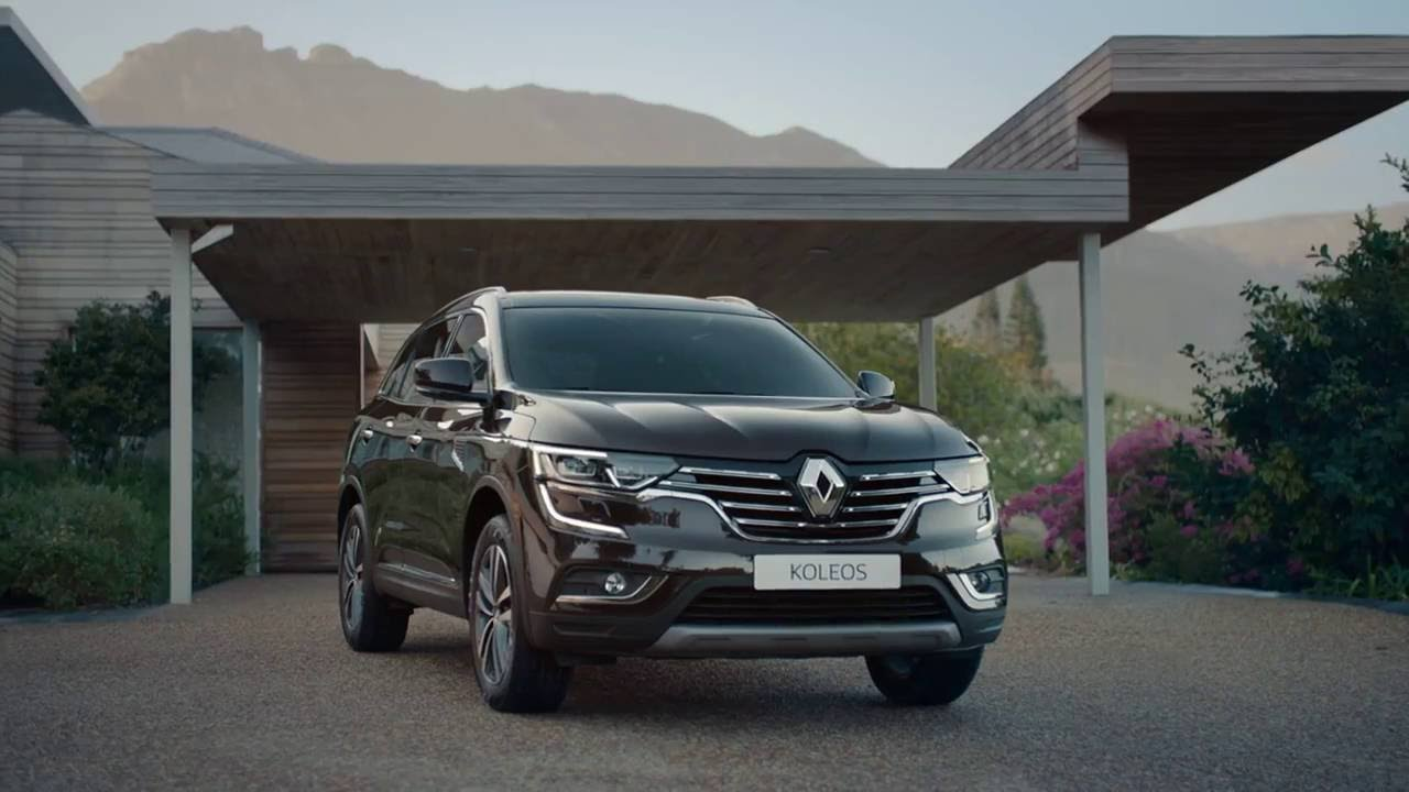 renault koleos ii 2 2016 vid o officielle youtube. Black Bedroom Furniture Sets. Home Design Ideas