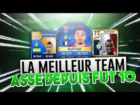 LA MEILLEUR TEAM DE L'ASSE DEPUIS FIFA 10