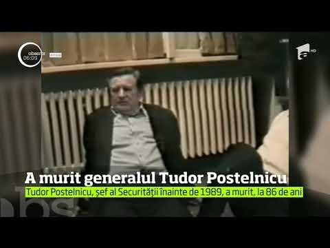 A murit generalul Tudor Postelnicu, ulimul ministru de Interne înainte de 1989