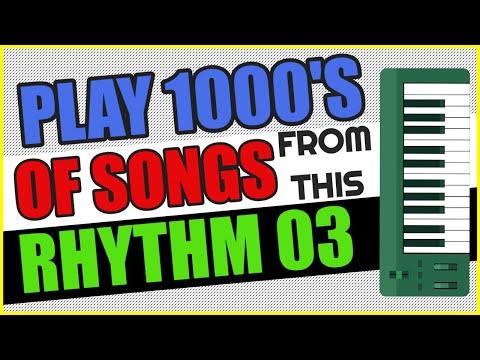 Rhythm Piano |  Rhythm No.  Three |  Oom Pah Rhythm