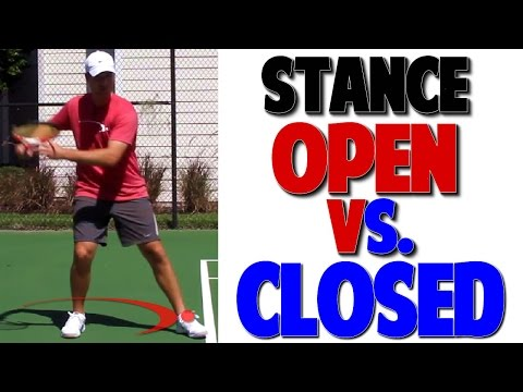 Modern (Open) Forehand Vs. Closed Forehand (Top Speed Tennis)