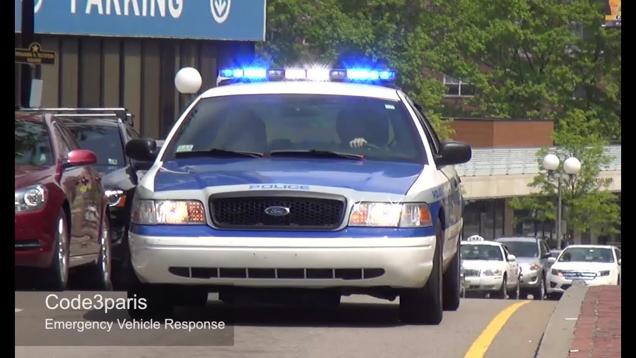 Boston Police Car Responding Youtube