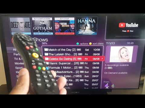 Delete Multiple Virgin TIVO Shows At Once - Make More Space
