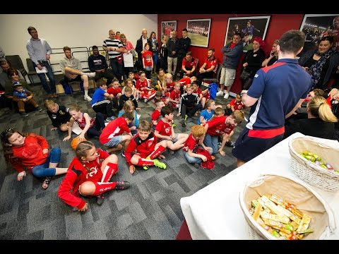 Community: Bristol Rugby Nutritionist Helps Youngsters Stay Sugar Smart