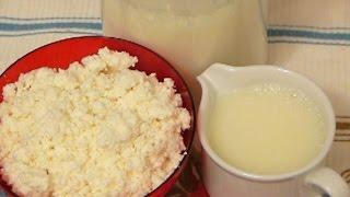 Творог из кислого  молока
