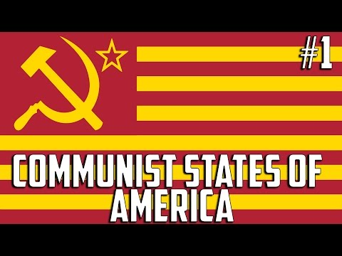 Hearts of Iron 4 - Communist States of America #1
