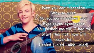 Ross Lynch(Austin Moon)-Billion Hits Lyrics Video from Austin and Ally