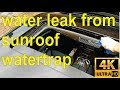 How to fix a sunroof water leak  in your BMW (full details) - step by step