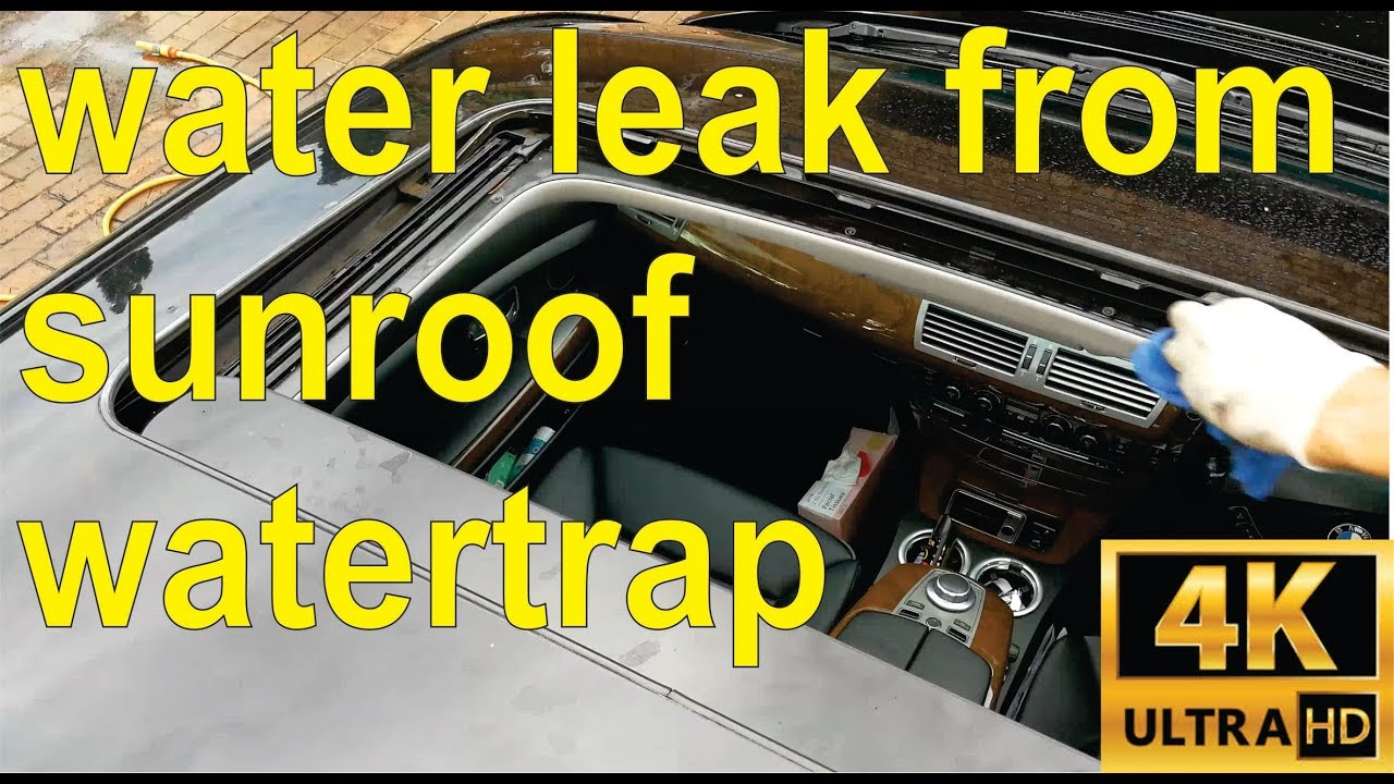 How To Fix A Sunroof Water Leak In Your Bmw Full Details