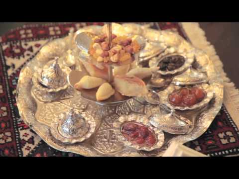 Traditional Azerbaijan Tea Ceremony at Kempinski Hotel Badamdar