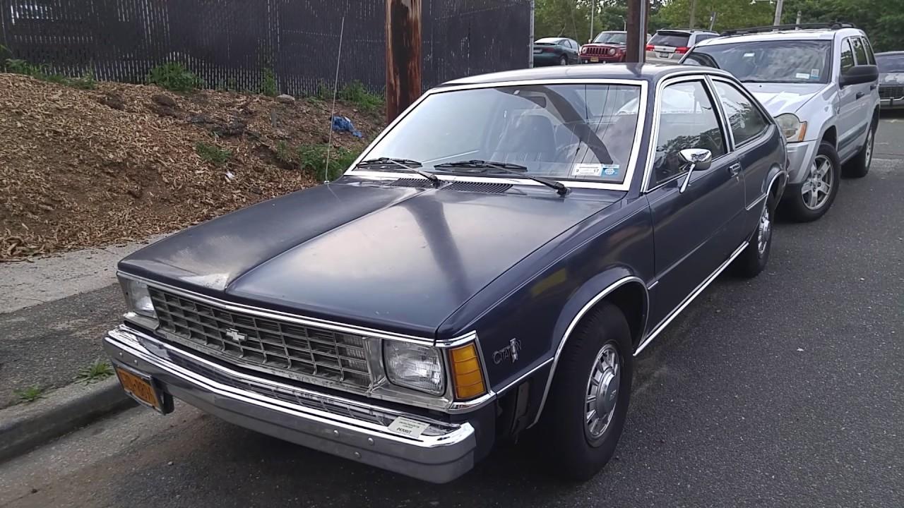 All Chevy 1985 chevrolet citation 1981 Chevrolet Citation - YouTube