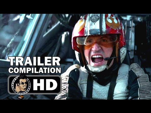 ROGUE ONE: A STAR WARS STORY - All Trailers Compilation (2016) Felicity Jones Sci-Fi Movie HD