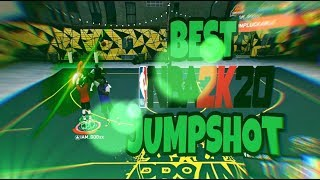 BEST JUMPSHOT IN NBA 2K20! NEVER MISS A SHOT AGAIN !!