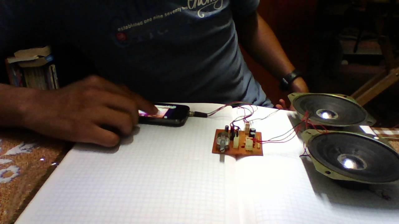 Circuito Amplificador De Audio : Amplificador de audio w con circuito integrado tda m
