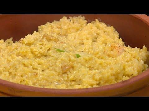 طاجن ارز بالجمبري : غادة جميل