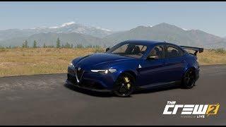 The Crew 2 First Drive and Customisation of the NEW Alfa Romeo Guilia Quadrifoglio