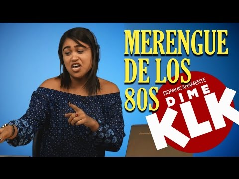Dominicanos reaccionan al Merengue de los 80s