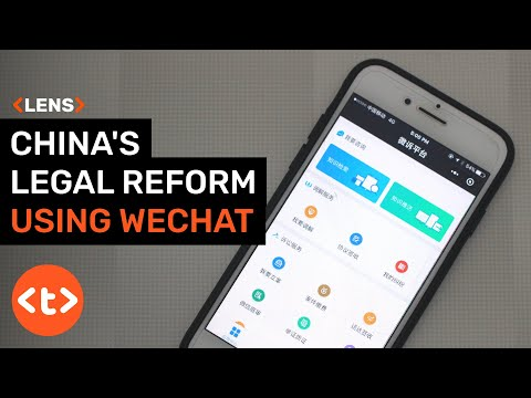 Can China reform its legal system using WeChat?