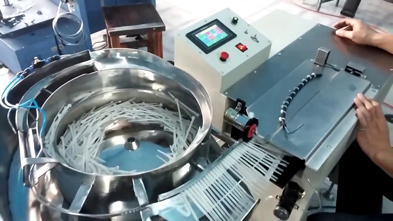 Cable tie cutting machine for wire harness with factory price - YouTube