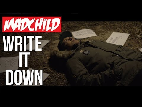 Madchild - Write It Down (Official Music Video)