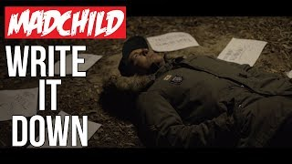 Смотреть клип Madchild - Write It Down