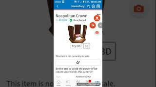 Como obter a coroa napolitana em Roblox