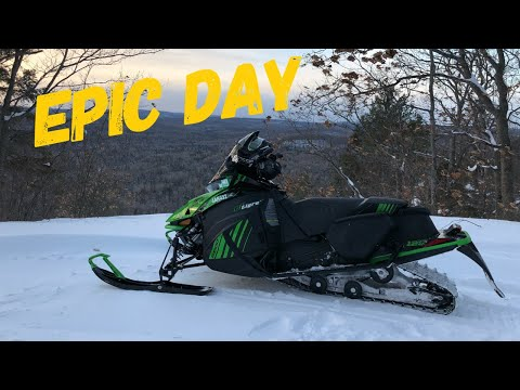 Snowmobiling To Epic Lookouts And Exploring Inside The Mica Mine