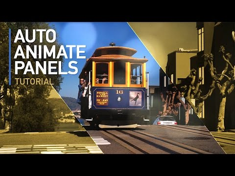 After Effects Tutorial: Create Automatic Moving Panels