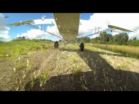 Flying the Willamette River Valley - Carbon Cub SS