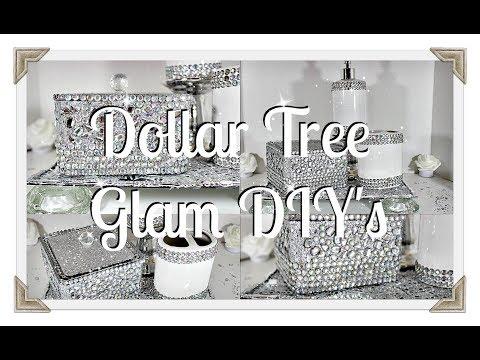 DIY Glam Bathroom Decor