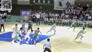 ノールックパスだけじゃない洛南高校森井君Check out this video of Morii's high school highlights. thumbnail