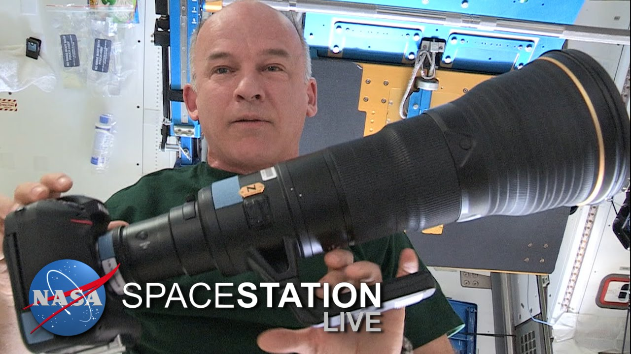 Space Station Live: Williams Talks Candidly about Cameras