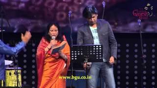 """""""Naa Ninna Mareyalaare"""" song by Vani Jairam & Vijay Prakash @ 53rd Bengaluru Ganesh Utsava..!!"""